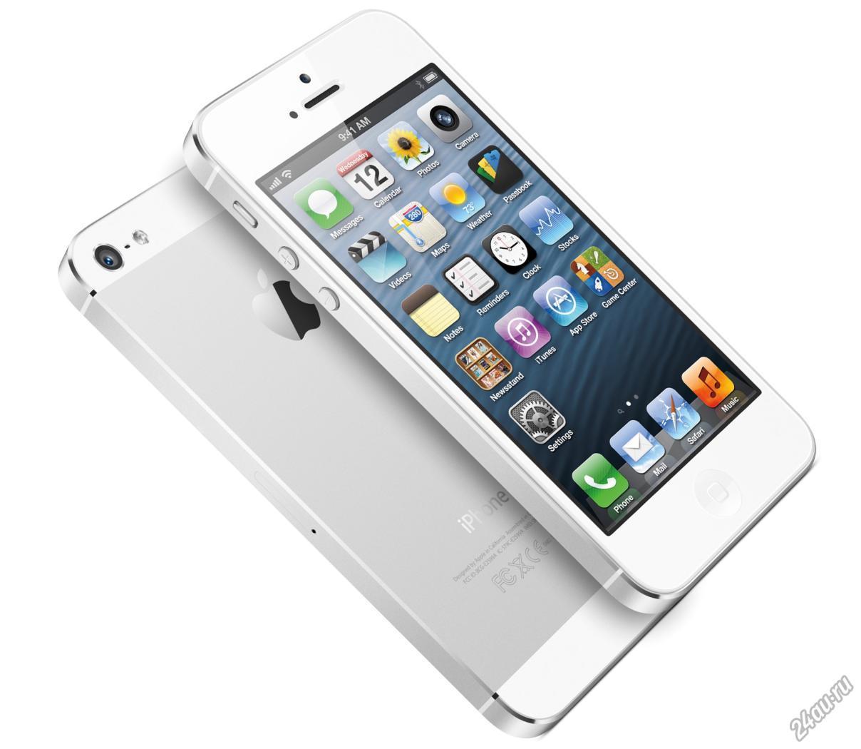 Где купить новый iPhone 5?